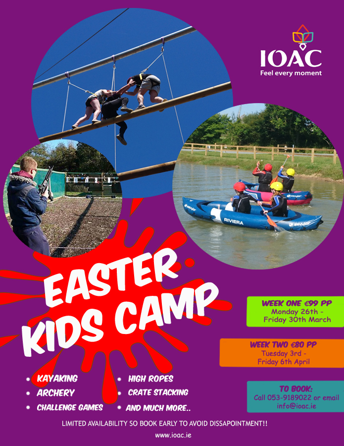 Easter camp poster