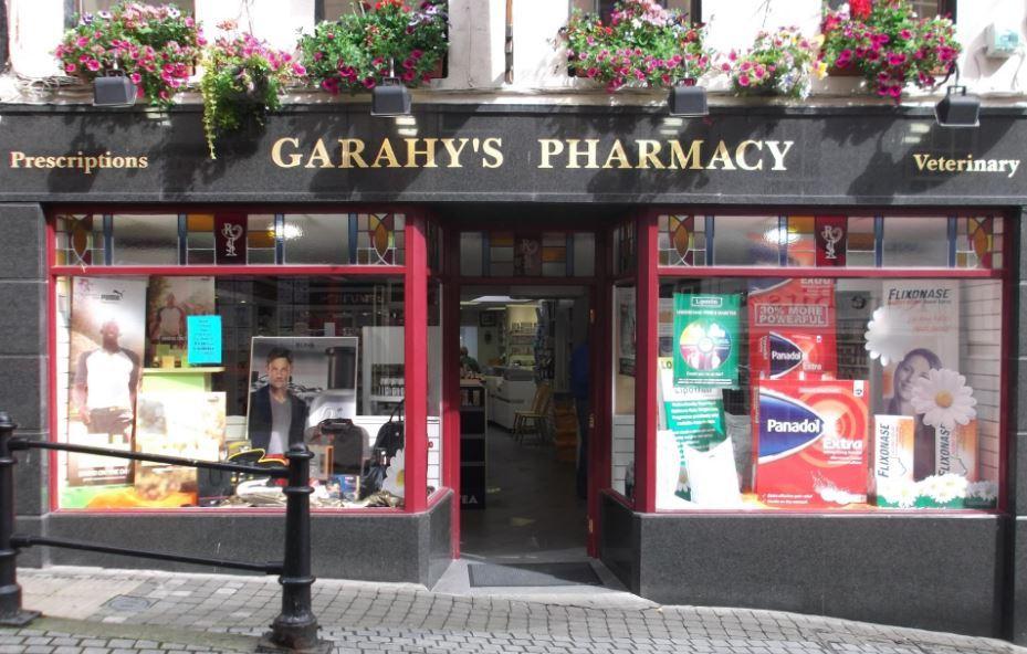 Cover photo garahy pharmacy