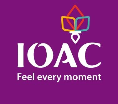 Ioac logo reversed