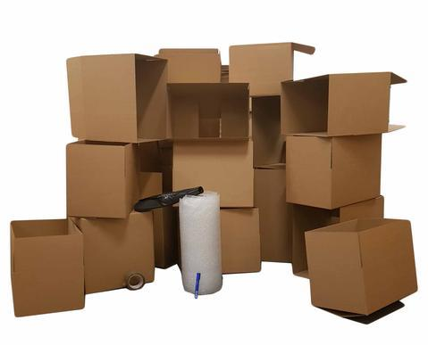 Moving boxes student moving house package large
