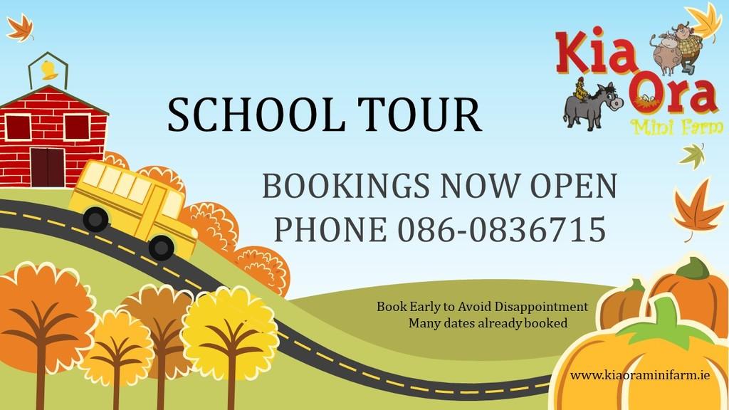 School tour poster
