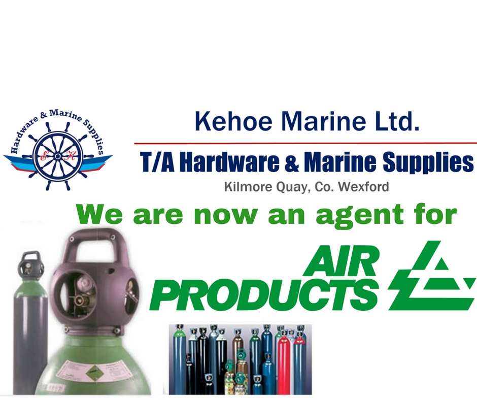 We are now stockists of air products